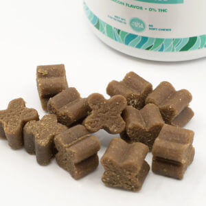 Cannanine™ Bacon Flavor Soft Chews With CBD For Dogs 300 mg. 60 ct. - 50% Off