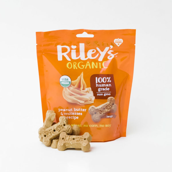 Project Paws® Organic Peanut Butter & Molasses Treats by Riley's (5 oz)