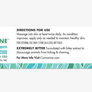 Cannanine™ CBD Hot Spot Cream For Dogs & Cats (1 oz)