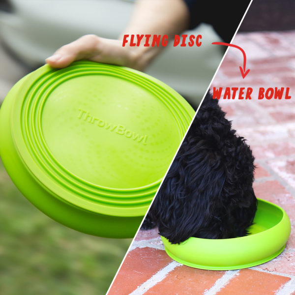 ThrowBowl™ The Water Bowl Your Pup Can Play With