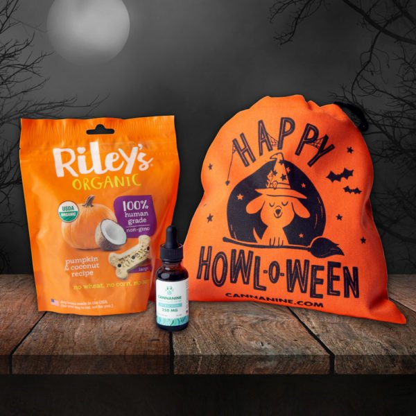 LIMITED TIME: Happy Howl-O-Ween CBD Calming Gift Pack – $56 Value