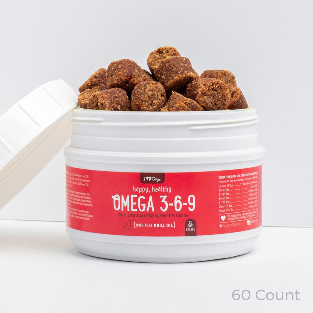 CBD Omega Skin & Coat Health Care System (250mg, 500mg, or 1000mg) – 25% Savings!