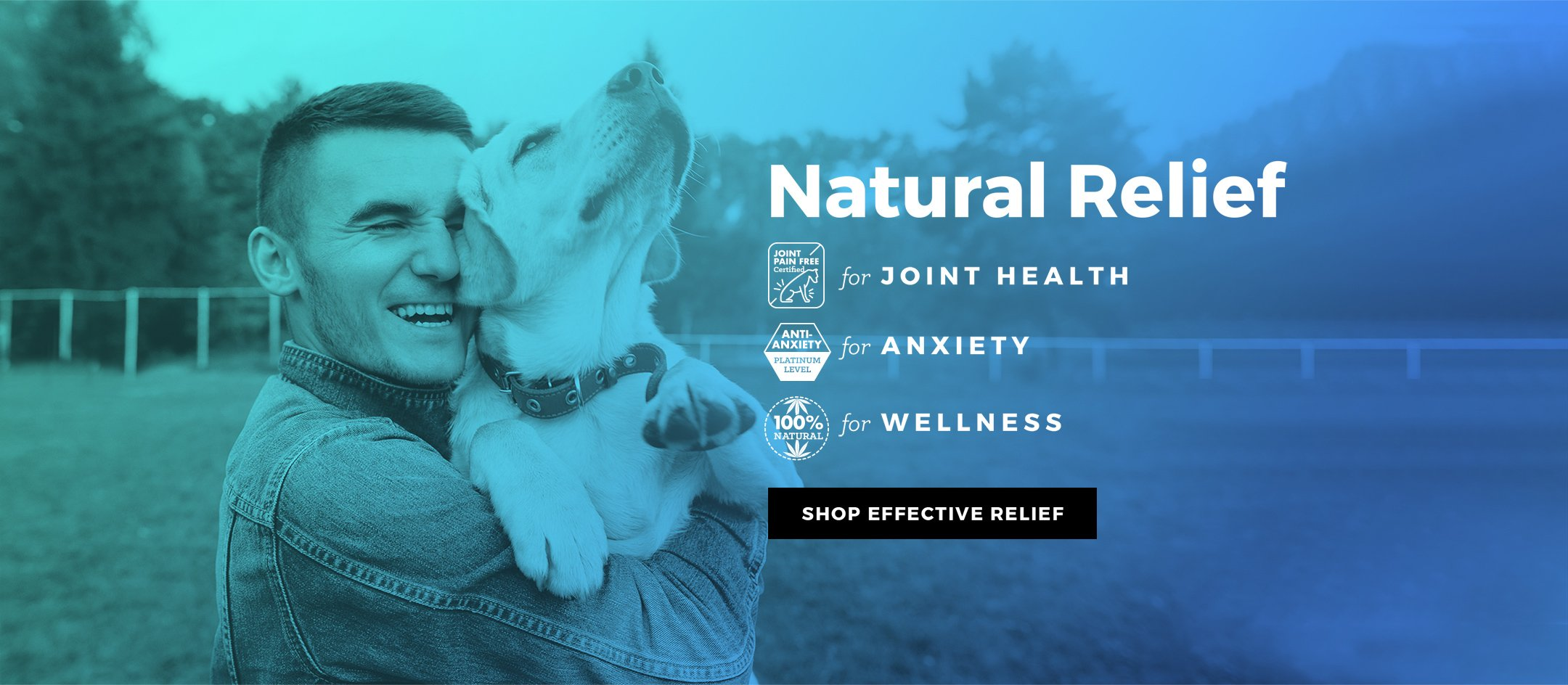 Natural Relief for Joint Health, Anxiety and Wellness