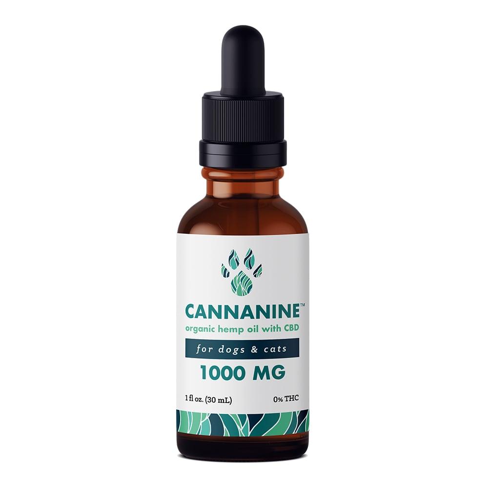 Cannanine™ Ultra-Premium Full Spectrum Hemp CBD Oil For Dogs