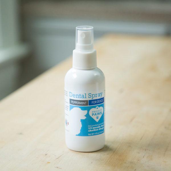 Tartar, Plaque, & Bad Breath Control Peppermint Dental Spray for Dogs