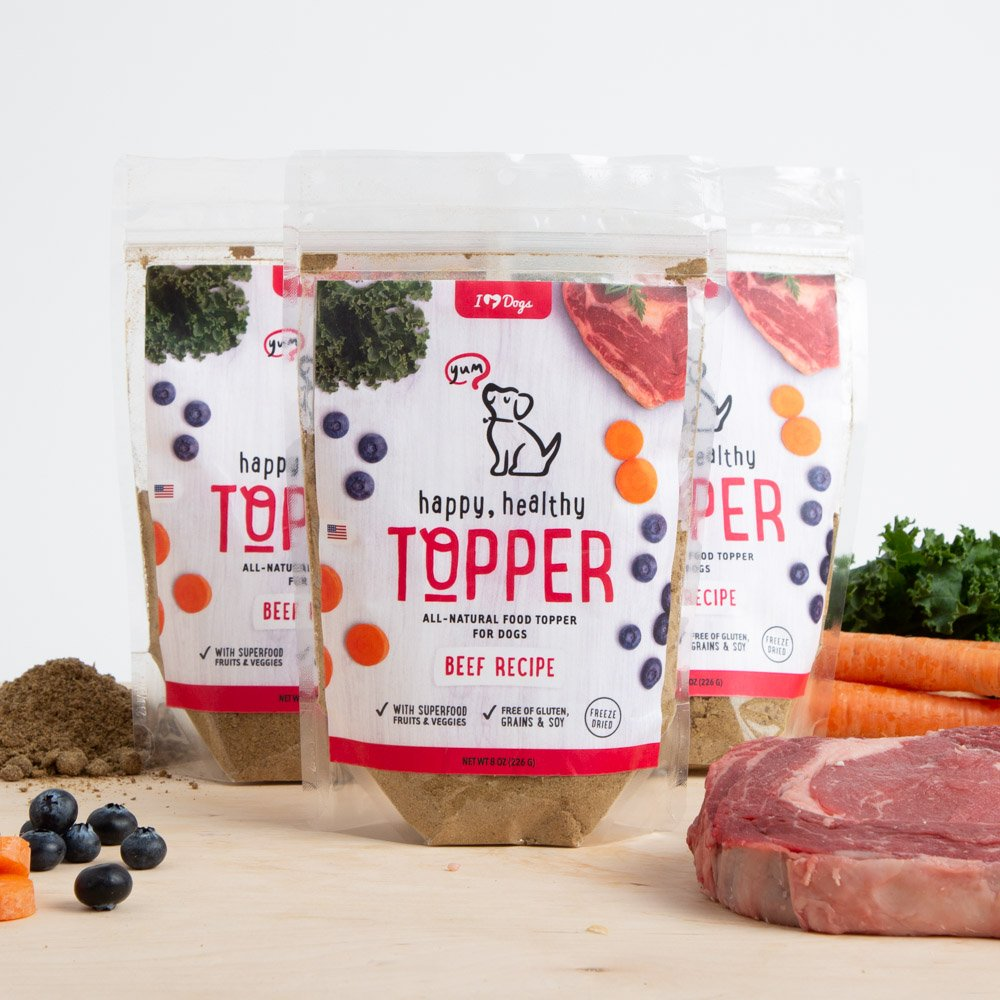 Happy, Healthy™️ Nutrition Boost Beef Food Topper (8 oz Pouch, 3 Pack)
