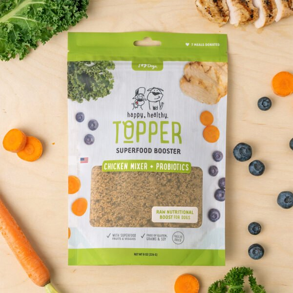 Happy, Healthy™️ Nutrition Boost Chicken Food Topper (8 oz Pouch)