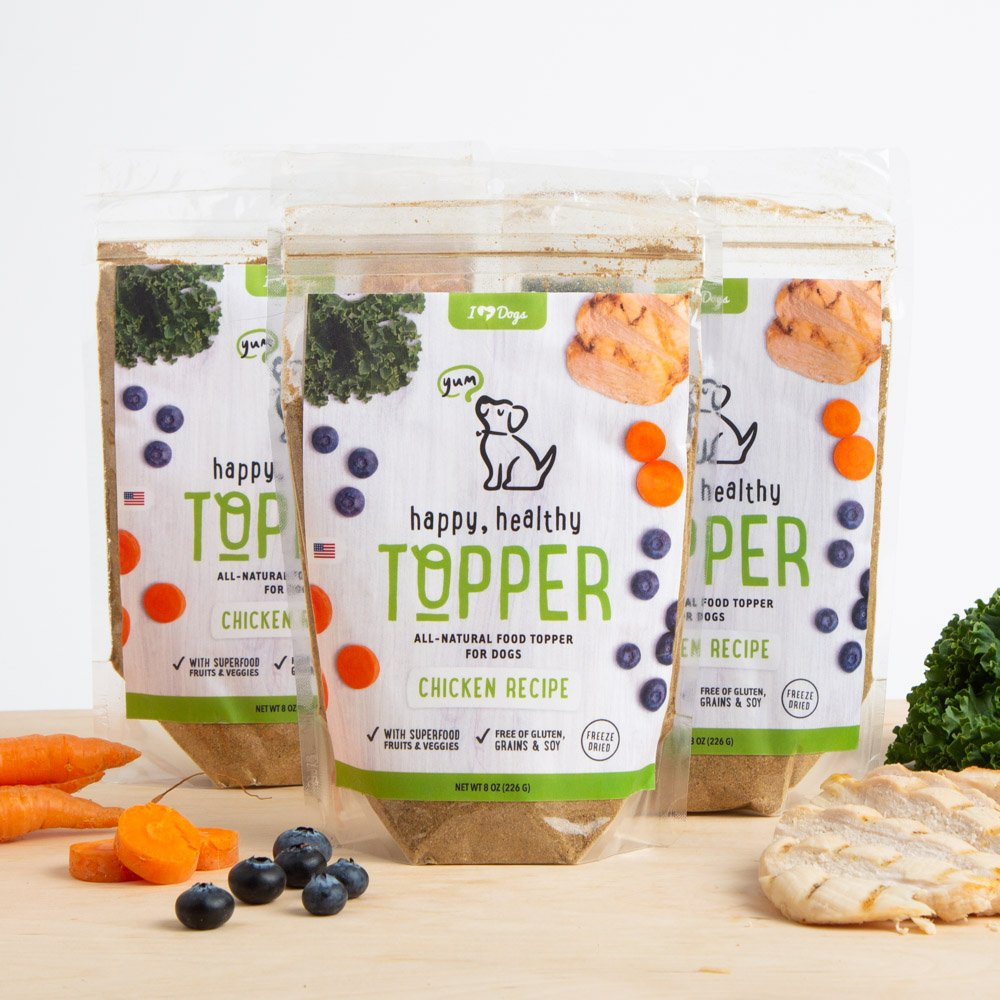 Happy, Healthy™️ Nutrition Boost Chicken Food Topper (8 oz Pouch, 3 Pack)