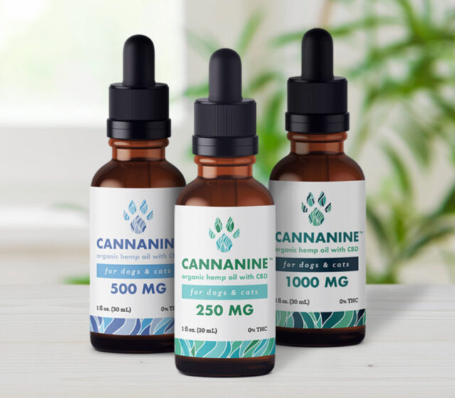 Cannanine Organic Hemp Oil with CBD comes in three strengths to provide the best care for your dog's endocannabinoid system.