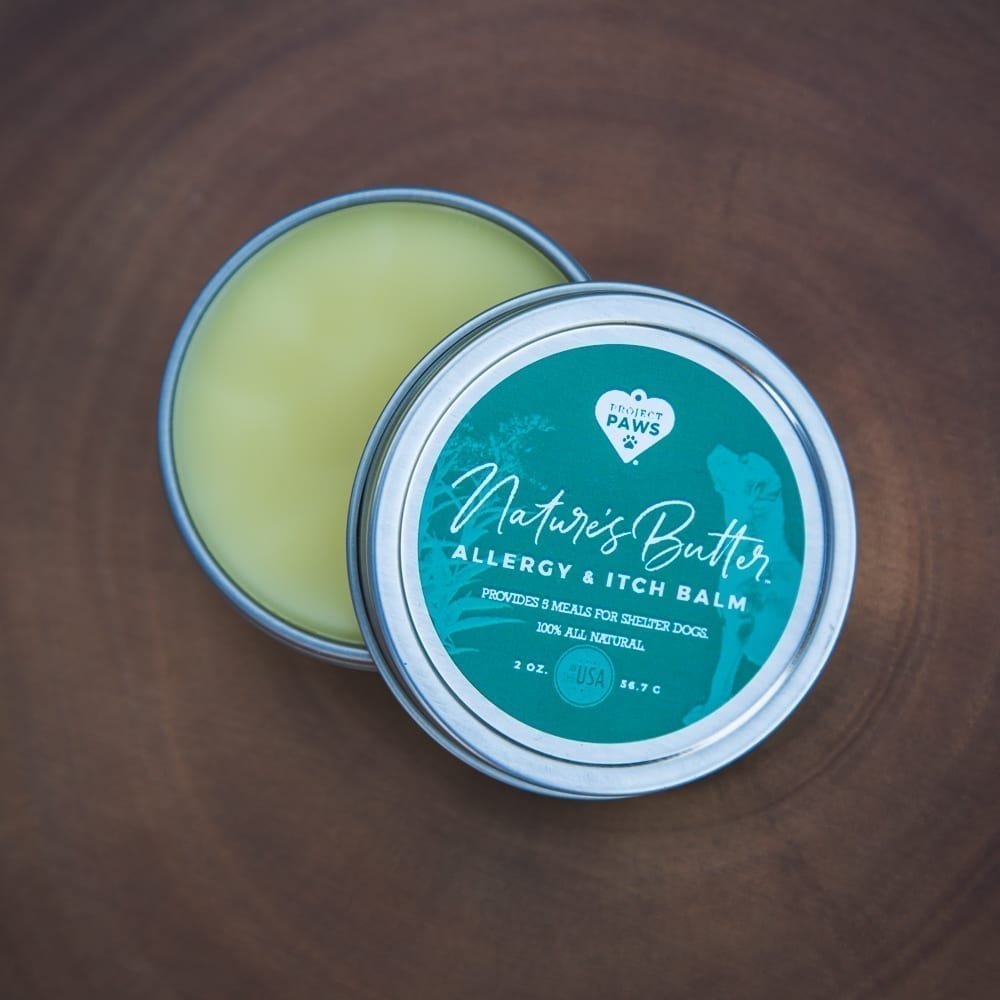 Nature's Butter™ Allergy & Itch Balm with Neem Oil for Dogs (2 oz)