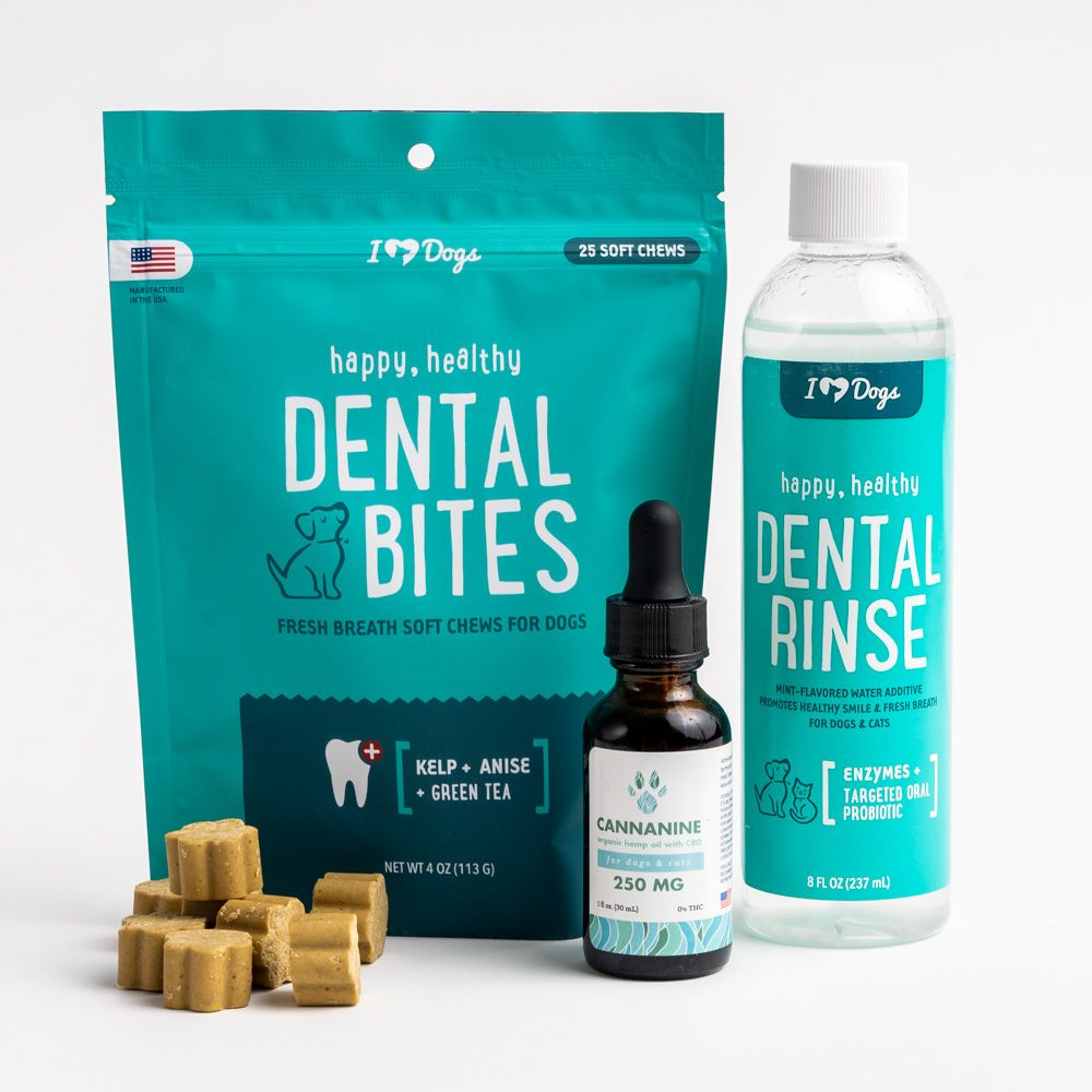CBD Dental Bundle - Dental Bites, Dental Rinse and CBD (250mg, 500mg and 1000mg)- Up to 51% Off!