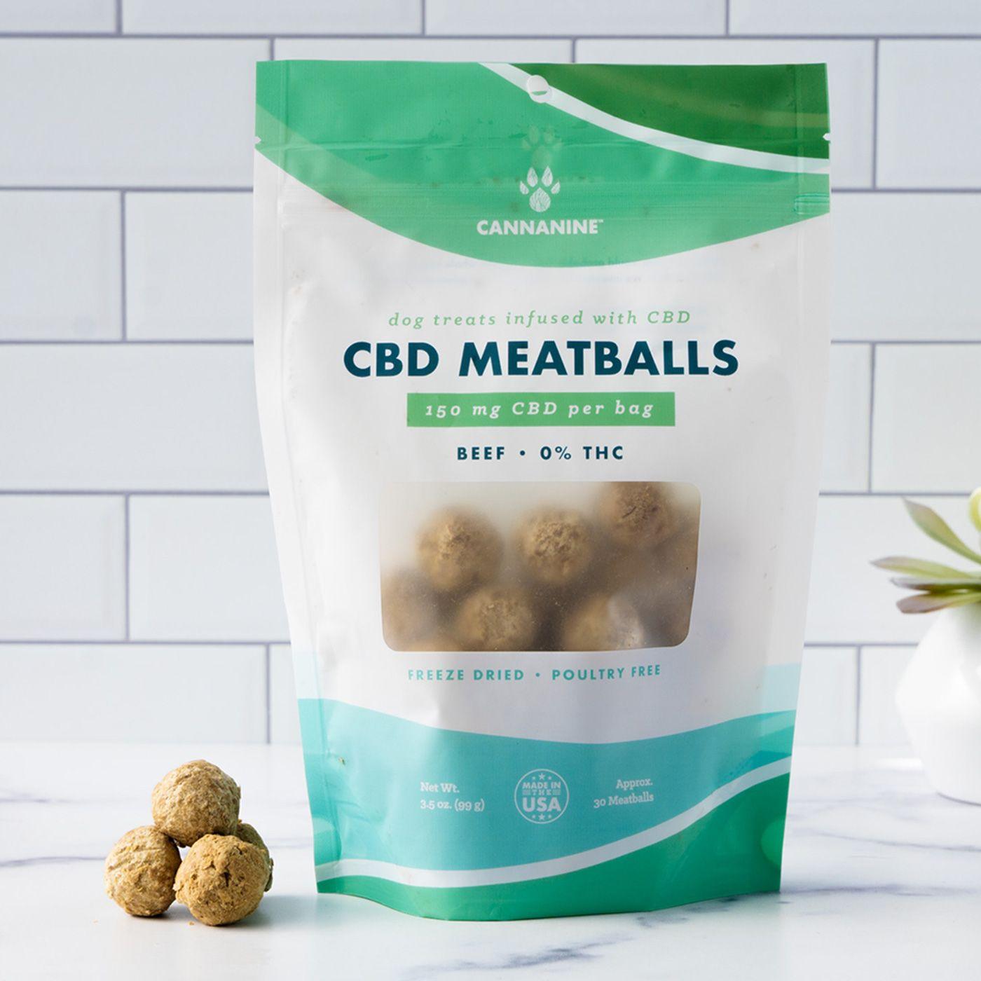 Cannanine CBD Meatball treats